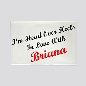 In Love with Briana Rectangle Magnet