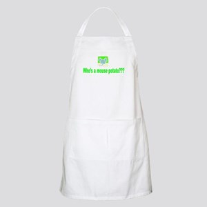 Mouse Potato BBQ Apron