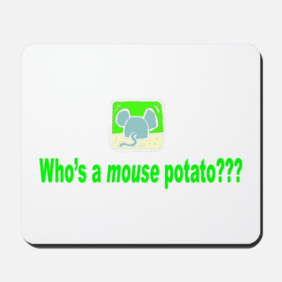 Mouse Potato Mousepad