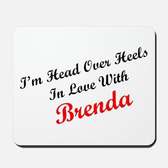 In Love with Brenda Mousepad