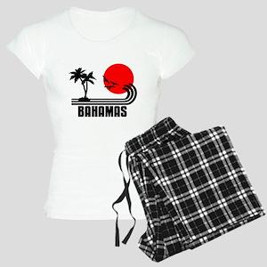 Bahamas, Sonne Palmen Stran Women's Light Pajamas