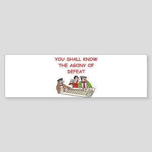CRAPS Bumper Sticker
