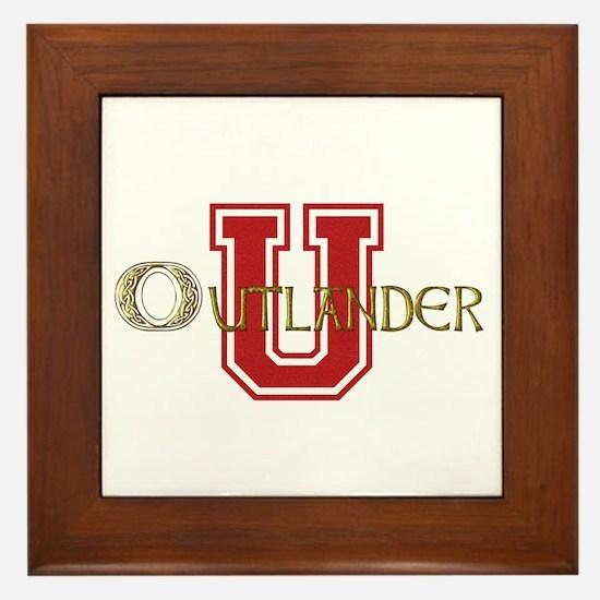 Outlander University Framed Tile