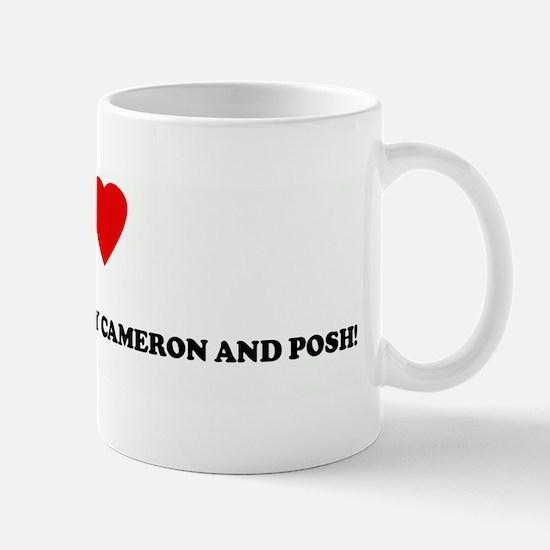 I Love JT & DB...OUTTA MY WAY Mug
