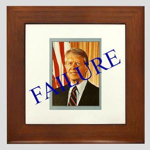 Jimmy Carter Failure Framed Tile