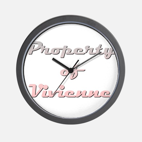 Property Of Vivienne Female Wall Clock