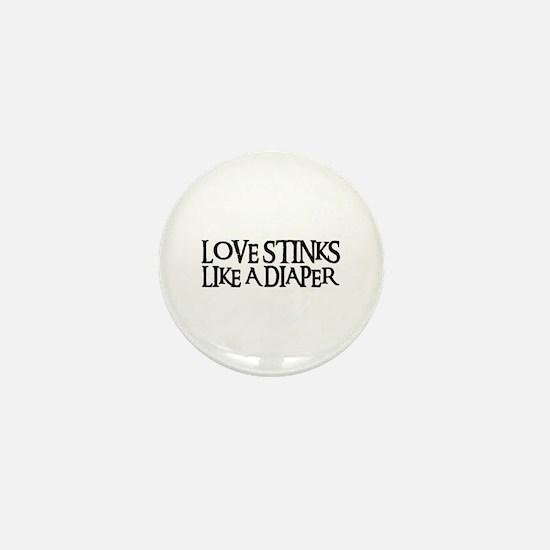 LOVE STINKS Mini Button