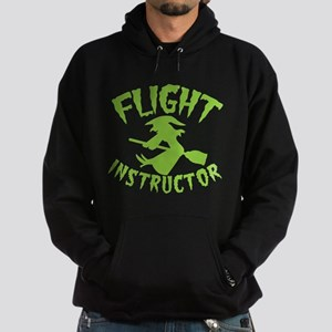 Flight instructor wickedy witch on a broomstick Ho