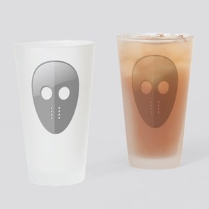 Hockey Mask Drinking Glass