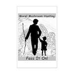 Pass it on! Mini Poster Print