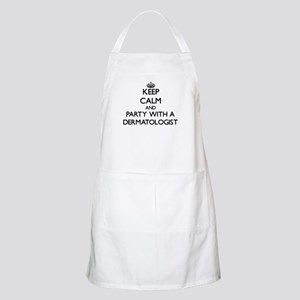 Keep Calm and Party With a Dermatologist Apron