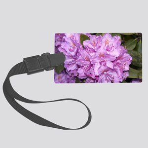 Rhododendron Large Luggage Tag