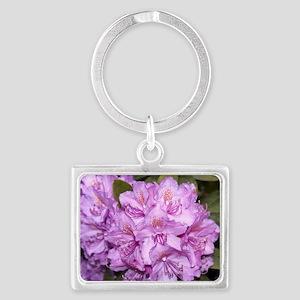 Rhododendron Landscape Keychain