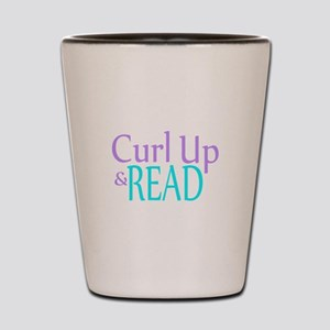Curl Up and Read Shot Glass