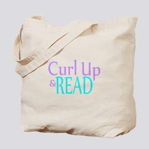 Curl Up and Read Tote Bag