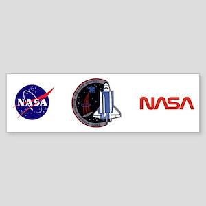 STS-80 Columbia Sticker (Bumper)