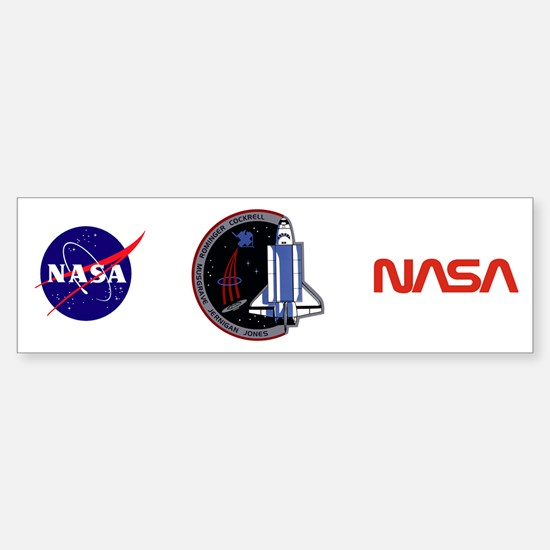 STS-80 Columbia Sticker (Bumper)