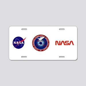 STS-83 Columbia Aluminum License Plate