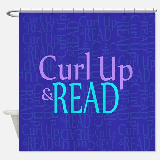 Curl Up and Read Shower Curtain