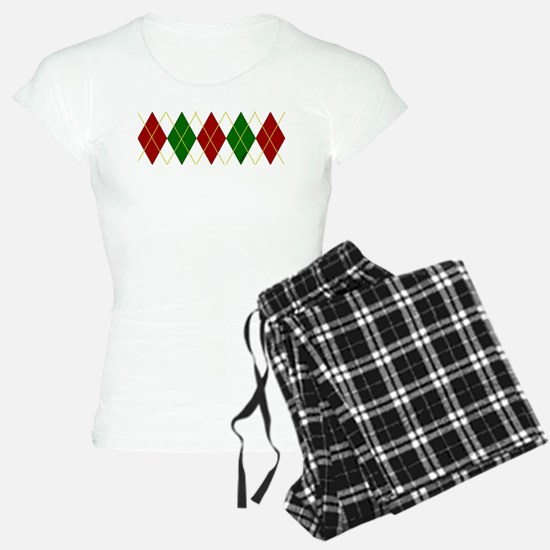 Holiday Argyle Pajamas
