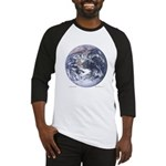 Earth from space Baseball Jersey