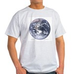 Earth from space Ash Grey T-Shirt
