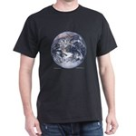 Earth from space Dark T-Shirt