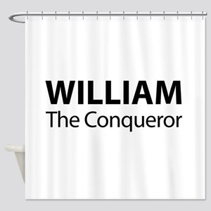 William The Conqueror Shower Curtain