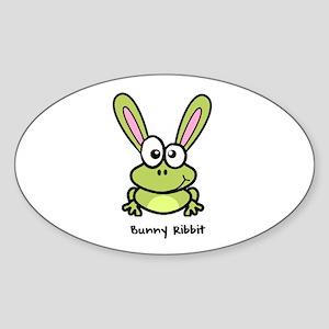 Bunny Ribbit - Rabbit Frog Sticker