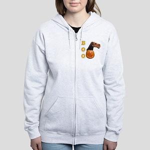 AiredaleBoo2 Women's Zip Hoodie