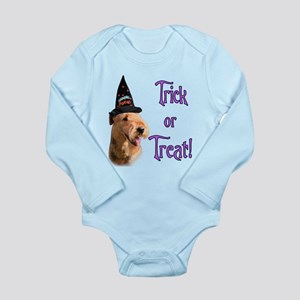 Airedale TerrierTrick Long Sleeve Infant Bodys