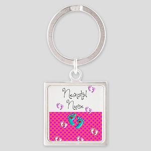 neonatal nurse 4 Keychains