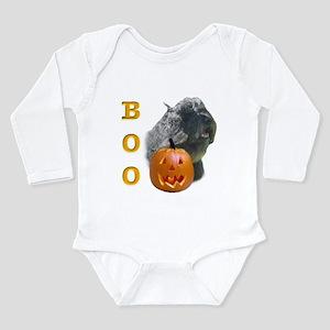 BouvierBoo2 Long Sleeve Infant Bodysuit