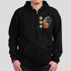 BouvierBoo2 Zip Hoodie (dark)