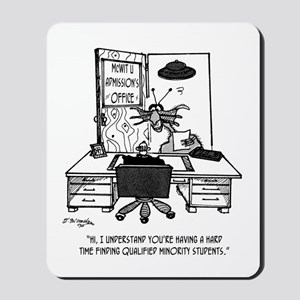 Space Alien University Admissions Mousepad