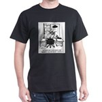 Space Alien University Admissions Dark T-Shirt