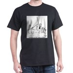 Fishing Is A Science Dark T-Shirt