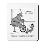 Survival of the Fittest Mousepad