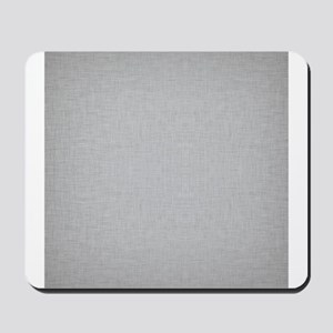 Grey Linen Mousepad