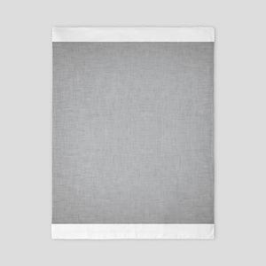 Grey Linen Twin Duvet