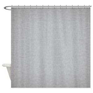 All Gray Shower Curtains