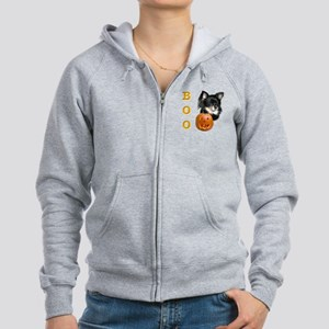 ChihuahuaBoo2 Women's Zip Hoodie