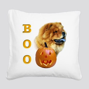 ChowBoo2 Square Canvas Pillow