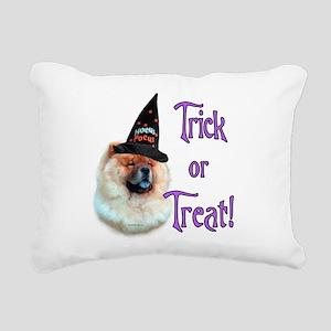ChowTrick Rectangular Canvas Pillow
