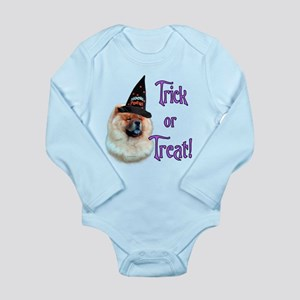 ChowTrick Long Sleeve Infant Bodysuit