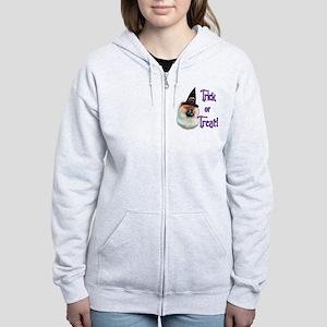 ChowTrick Women's Zip Hoodie