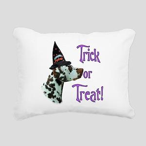 DalmatianliverTrick Rectangular Canvas Pillow