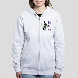 DalmatianliverTrick Women's Zip Hoodie
