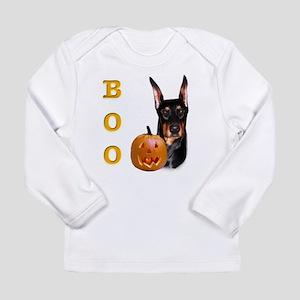 DobermanBoo2 Long Sleeve Infant T-Shirt