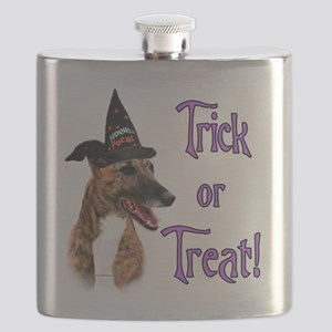 GreyhoundbrindleTrick Flask